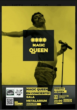 Magic Queen tributo a Queen en Badajoz